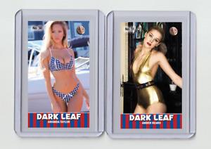 Amber Heard rare MH Dark Leaf #'d 1/3 Tobacco card no. 51