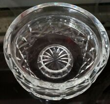 """Waterford Crystal Footed Bowl Giftware 51/4"""" Diameter 3 1/4"""" Tall Candy Bowl"""
