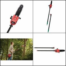 Trimmer Attachment Extension Pole Saw Pruners Uv Protected Bar Chain 8 in.