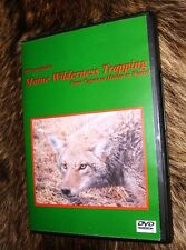 J.W. Crawford Maine Wilderness Trapping From Coyote to Marten to Weasel (DVD)
