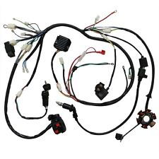 GY6 150cc QUAD ELECTRICS Stator/Magneto/Generator Coil,Cdi,Rectifier,Harness NGK