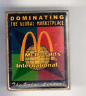 RARE PINS PIN'S .. MC DONALD'S RESTAURANT MARKETPLACE GLOBAL WORLD LEADER ~15