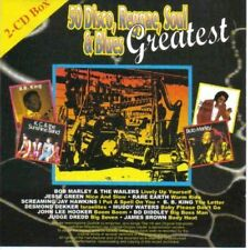 50 Disco, Reggae, Soul & Blues Greatest | 2 CD | Bob Marley, Anita Ward, Jess...