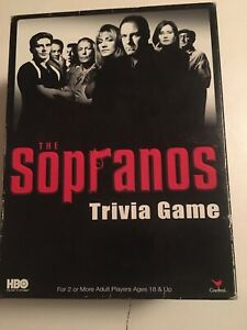 The Sopranos Trivia Game Complete