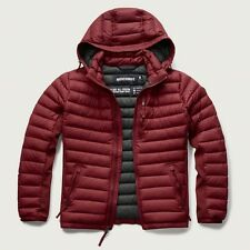 NWT Abercrombie & Fitch Mens Lightweight Hooded Down Puffer Jacket Coat ~ L
