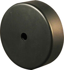 Clock Motor Cover - Hub Conceals Clock Movement on wall - Hanger Slot on  Back