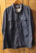 SIMMS•Fishing Guide Shirt•100% Nylon•Long Sleeve•Blue•Men's 2XL•((L@@K!))•$119