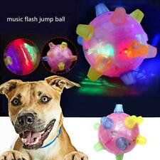Pet Toys Jumping Activation Ball LED Jump Dance Ball Toy for Dog Best