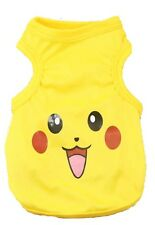 Pikachu Pet Puppy Dog Cat Vest Sweater Apparel Easter Spring Summer Costume M