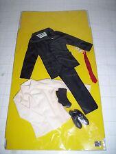 """1-RARE VINTAGE JAMES BOND ACTION FIGURE SUIT CLOTHING 12"""" THE A.C GILBERT CO."""
