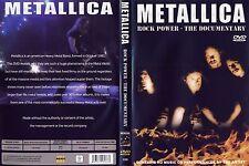 Metallica - DVD - Rock Power - The Documentary von 2008 - NEU & OVP !