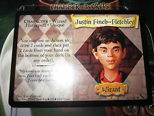 HARRY POTTER TCG CARD CHAMBER OF SECRETS JUSTIN FINCH-FLETCHLEY 32/140 RARE MINT