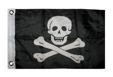 "12x18 12""x18"" Jolly Roger Pirate Edward England Boat Car Motorcycle Flag nylon"