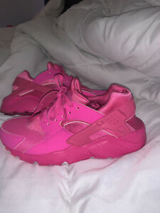Nike Pink Athletic Shoes Nike Huarache For Women For Sale Ebay
