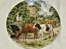 Wedgwood Life On The Farm A Cooling Drink Ltd. Ed. Collectors Plate Free UK P&P