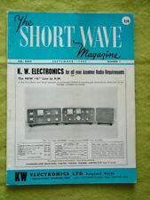 THE SHORT WAVE MAGAZINE / SEPT 1965 / CAMBRIDGE RADIO TELESCOPE