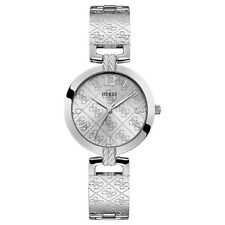 Guess g Luxe Womens Analog Quartz Watch with Stainless Steel Bracelet W1228L1