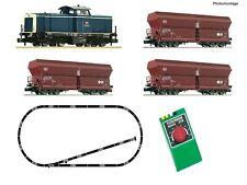 Fleischmann 931705 Start Set:mit Diesellok BR 212 Güterzug und Gleisoval, Spur N
