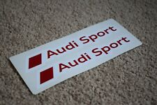 Audi Sport Logo Racing Car Vehicle Badge Race Racing Decals Stickers Logo 50mm