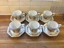 More details for johnson brothers fresh fruits cups and saucers x6.
