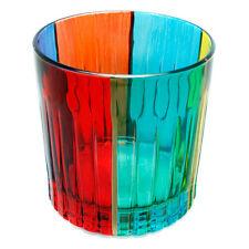 Murano Glass Drinking Artisan Glass Tumbler Multi Coloured Hand Painted