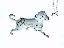 Dalmatian Dog Bejeweled Trinket Box