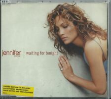 JENNIFER LOPEZ - WAITING FOR TONIGHT / (REMIXES)1999 UK CD SINGLE W/POSTER