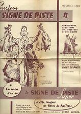 EO PIERRE JOUBERT + COLLECTIF 1959 CARREFOUR SIGNE DE PISTE N° 4 NOUVELLE SÉRIE