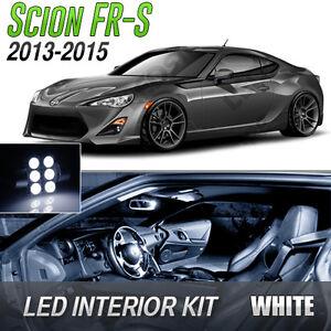2013-2015 Scion FR-S White LED Lights Interior Kit FRS