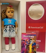 American Girl COURTNEY MOORE DOLL & BOOK with BONUS historical poster