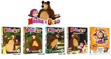 MASHA e ORSO Volume 1-2-3 Non e' facile essere piccoli Racconti di Masha (5 Dvd)