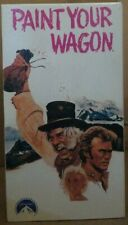 Paint Your Wagon VHS 2 Tape Set Clint Eastwood Lee Marvin Brand New