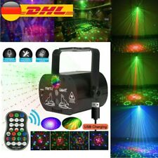 90 Muster Laser Bühnenlicht Projektor RGB LED USB Party Disco für Home Party DHL