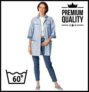 PREMIUM Woman Ladies Tunic Jacket Coat Nurses Dress Scrub Salon Beauty Spa NHS