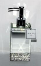 Bella Lux Chrome Bevel Mirror Rhinestones (over 1500) Soap Lotion Dispenser NEW