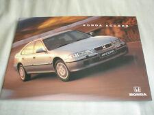 Honda Accord range brochure Jan 1997