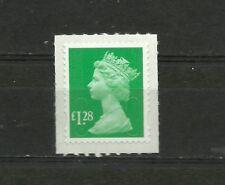 Great Britain Machin  £1.28 OFNP SA 2B De La Rue Code M14L SG U2934 MNH