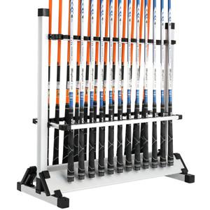 Fishing Rod Rack Holder Stand 24 Rods Pole Organizer Titanium Alloy Porta Cana