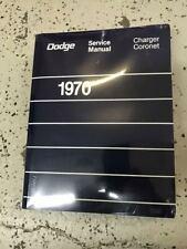 1970 Dodge Charger Coronet Super Bee R/T Service Shop Repair Workshop Manual