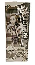 Mattel Monster High Frankie Stein Skull Shores Black and White Friday The 13th