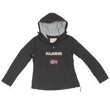 NAPAPIJRI Black Fleece Lined Winter Coat Jacket Men's size Small