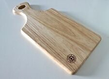 Chopping Board Cheese Serving Paddle Wood Boards Natural Block Design Small New