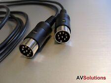 12 mtr. - BeoLab Câble Haut-Parleur Pour Bang & olufsen b&o Powerlink Mk2 (Noir, HQ)