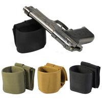 Universal Gun Pistol Holster Waist Hanging Bag Gun Holder Case For Waist Belt