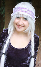 GOTHIC LOLITA LACE HEAD BAND MAID HALLOWEEN PASTEL BUBBLEGUM LOLI GOTH GOBBOLINO