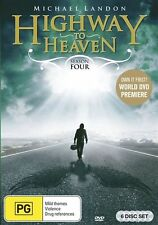 Highway To Heaven : Season 4 (DVD, 2012, 6-Disc Set)