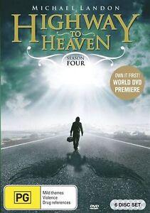 Highway To Heaven : Season 4 DVD BRAND NEW SEALED 🔥🔥