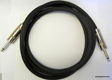 "ProCraft (PSP14-10-QQ) 10 Foot 14 Gauge Speaker Cable with Jumbo 1/4"" Connectors"