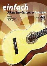 Gitarrenschule mit CD, Akustik Gitarre, Gitarrenbuch, Lernbuch, Schule, NEU B6