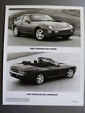 1995 Porsche 968 Coupe & Cabriolet Press Photo PCNA Issued RARE!! Awesome L@@K